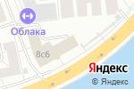 Схема проезда до компании Тройка-д банк в Москве