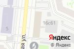 Схема проезда до компании Ударник в Москве