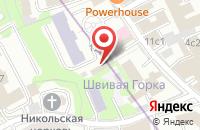 Схема проезда до компании Экспотайм в Москве