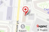 Схема проезда до компании Латрак Продакшн в Москве