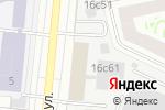 Схема проезда до компании ДжиТи Лайт в Москве