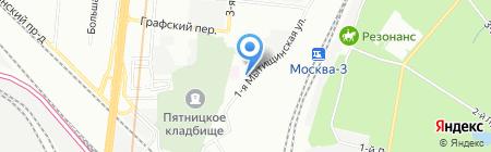 ТЕРЕЗА-ИНТЕР на карте Москвы