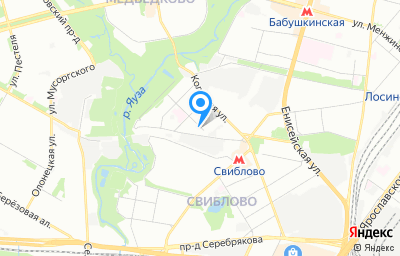 Местоположение на карте пункта техосмотра по адресу г Москва, ул Кольская, д 7 стр 35