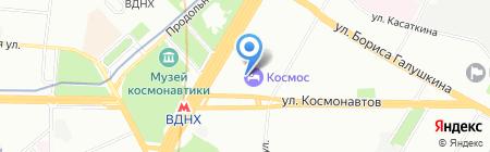 Юнисеф Тревел на карте Москвы