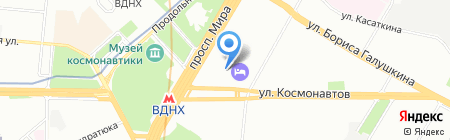 Вуаля на карте Москвы