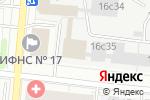 Схема проезда до компании Актив Аверс в Москве