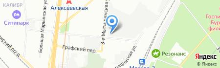 Веб Креатор на карте Москвы