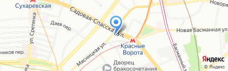 Квадра на карте Москвы