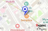 Схема проезда до компании НИИ ЭКОНОМИКИ ЭНЕРГЕТИКИ (НИИЭЭ) в Москве