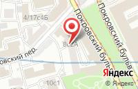 Схема проезда до компании Топред в Москве
