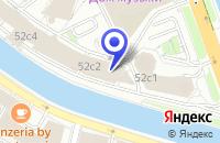Схема проезда до компании КОНСАЛТИНОГОВАЯ ФИРМА SAP AG в Москве