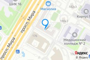 Снять комнату в двухкомнатной квартире в Москве Мира пр-кт, 180