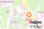 Схема проезда до компании Берега в Москве