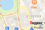 Схема проезда до компании PushKin в Москве