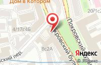 Схема проезда до компании Сырная Дырка в Москве