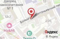 Схема проезда до компании Инфотех в Москве