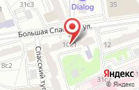 Схема проезда до компании Белимэкс в Москве