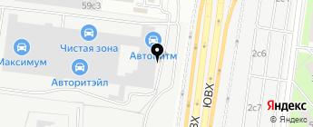 VAG-LINE Кантемировская на карте Москвы