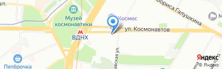Седьмой Континент на карте Москвы