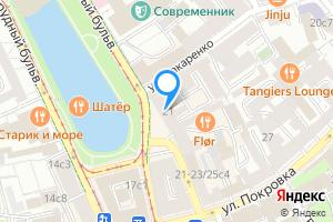 Снять комнату в восьмикомнатной квартире в Москве Чистопрудный бульвар, 21