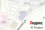 Схема проезда до компании Бойцовский клуб в Москве