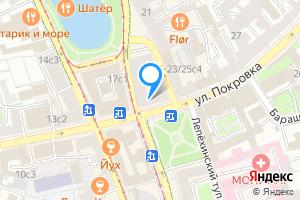 Снять комнату в восьмикомнатной квартире в Москве улица Покровка, 19