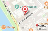 Схема проезда до компании Редан в Москве