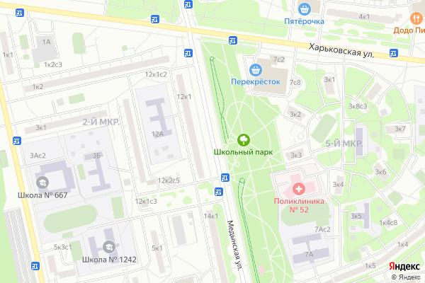 Ремонт телевизоров Улица Медынская на яндекс карте