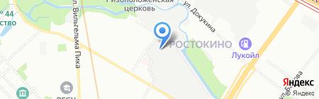 ЭТЭК на карте Москвы