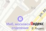Схема проезда до компании ВЭБ Инжиниринг в Москве