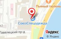 Схема проезда до компании Атис-Лана в Москве