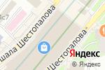 Схема проезда до компании APM monaco в Москве