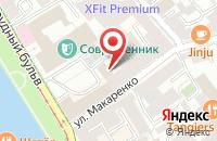 Схема проезда до компании Унистрой в Москве