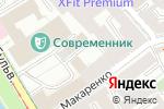 Схема проезда до компании Ланцет в Москве