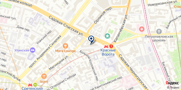 ШКОЛА ЙОГИ И БОЕВЫХ ИСКУССТВ на карте Москве
