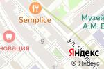 Схема проезда до компании F-Lounge в Москве