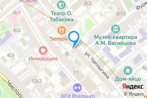 Снять комнату в четырехкомнатной квартире в Москве улица Чаплыгина, 8с1