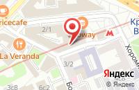 Схема проезда до компании А-Квадрат Экспо в Москве