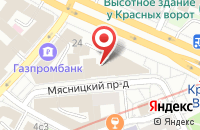 Схема проезда до компании Якутский Дом в Москве