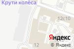 Схема проезда до компании СтальДверьСервис в Москве