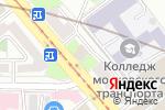 Схема проезда до компании Зарубежстройтехнология в Москве
