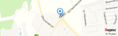 Бородино на карте Беляниново
