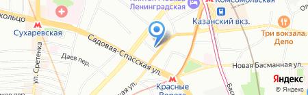 Русские Юристы на карте Москвы