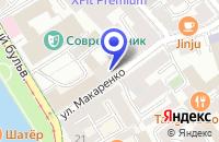 Схема проезда до компании АКБ УНИВЕРСАЛЬНЫЙ ФОНДОВЫЙ БАНК в Москве