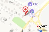 Схема проезда до компании Бородино в Беляниново