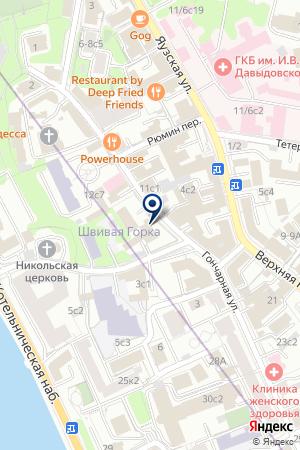 ДОМ ДУХОВНОГО НАСЛЕДИЯ ОО ОБЩЕСТВО ЗНАНИЕ РОССИИ на карте Москвы