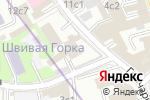 Схема проезда до компании Запад в Москве