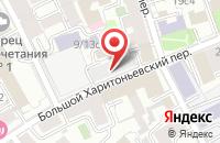 Схема проезда до компании Золотой Петушок в Москве