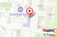 Схема проезда до компании Персэ в Москве