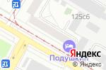 Схема проезда до компании Клуб настольного тенниса на ул. Сергея Эйзенштейна в Москве